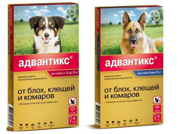 Капли для собак Адвантикс