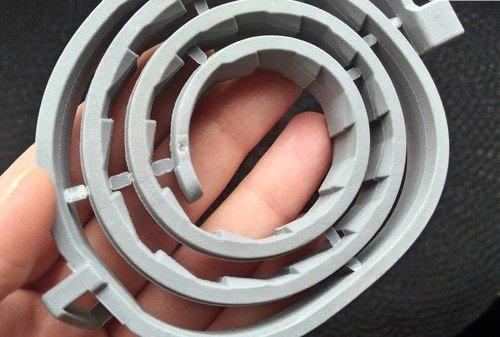 Пластиковые заглушки на ошейнике