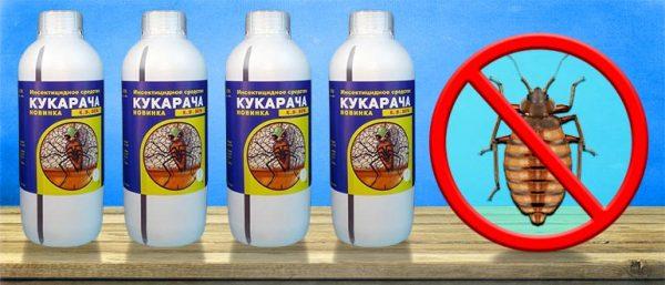 Препарат Кукарача от клопов