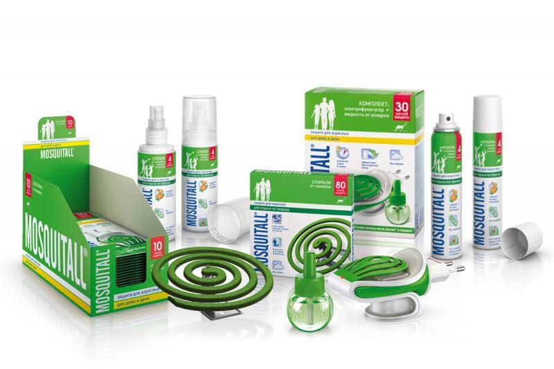Производитель Москитол предлагает массу средств для защиты от клещей и комаров