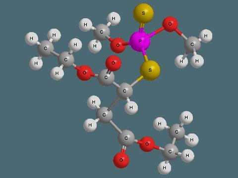 Структура малатиона