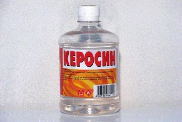 Бутылка керосина