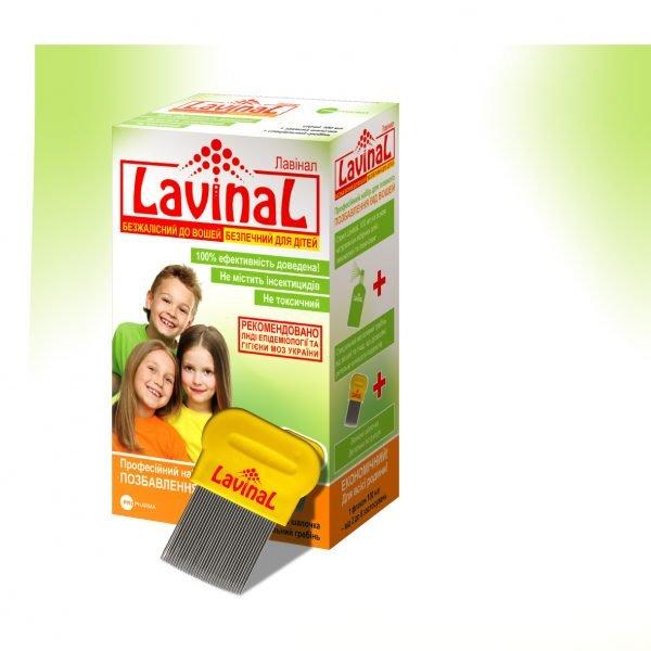 Спрей от педикулёза Lavinal