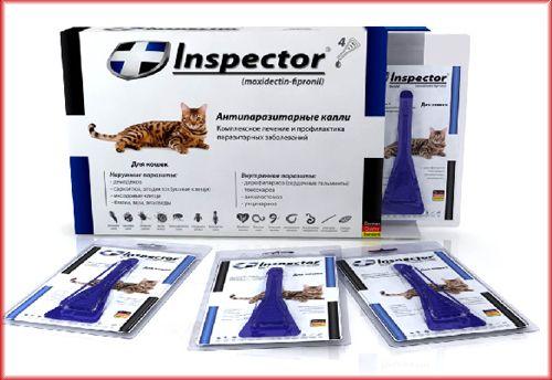 Препарат «Инспектор» для кошек