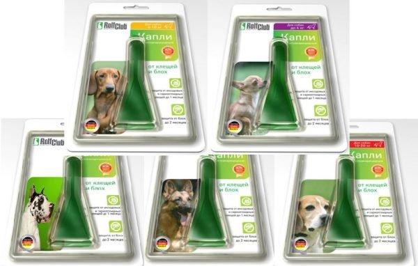 «Рольф Клуб» капли для собак