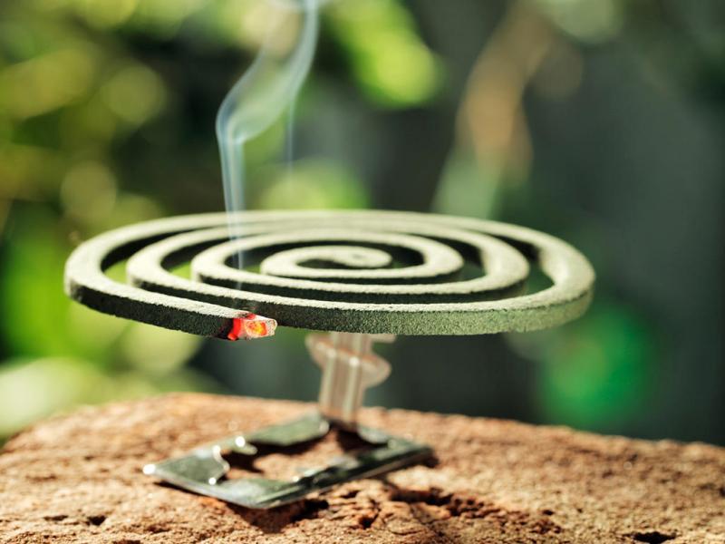 Спирали от комаров: правила использования и меры предосторожности