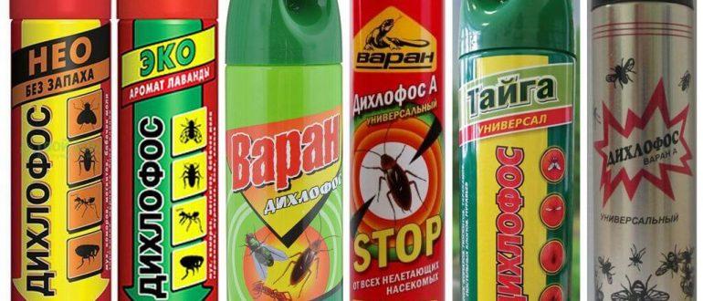 от тараканов спрей