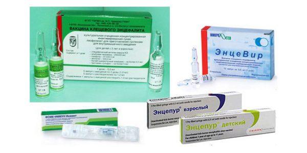 Вакцины против клещевого энцефалита