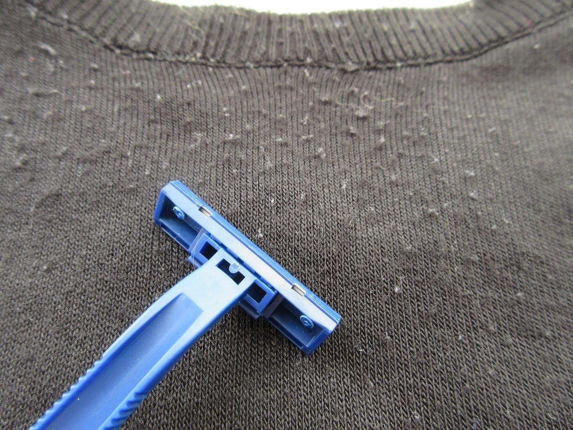 Катышки на одежде