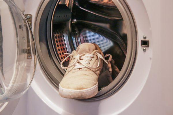 Кроссовок в стиральной машинке