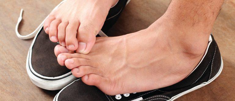 Неприятный запах ног