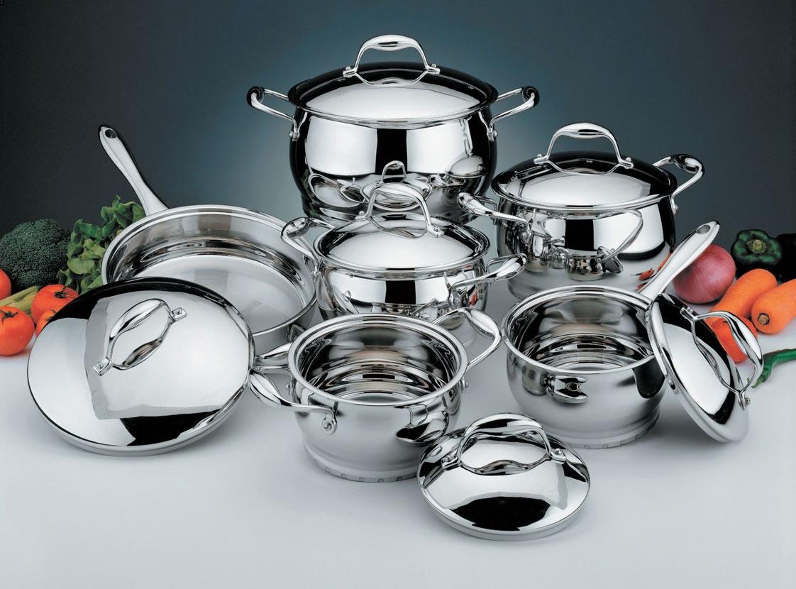 Чистка посуды из нержавеющей стали: эффективные методы, которые заставят кастрюли сиять