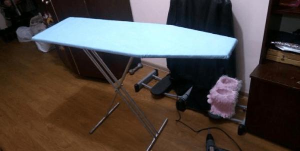 Самодельная гладильная доска
