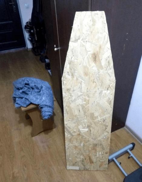 Заготовка столешницы