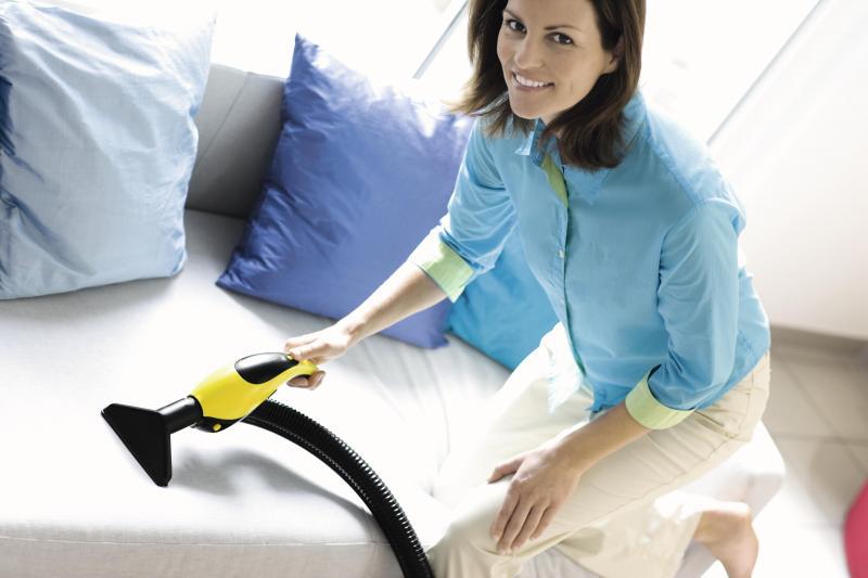 Способы и средства очистки мягкой мебели из ткани, кожи, нубука