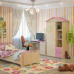 Комната девочки 7–11 лет
