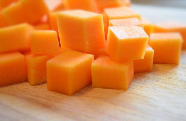 Тыквенные кубики