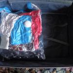 Вещи в вакуумном пакете