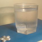 Запотевший стакан