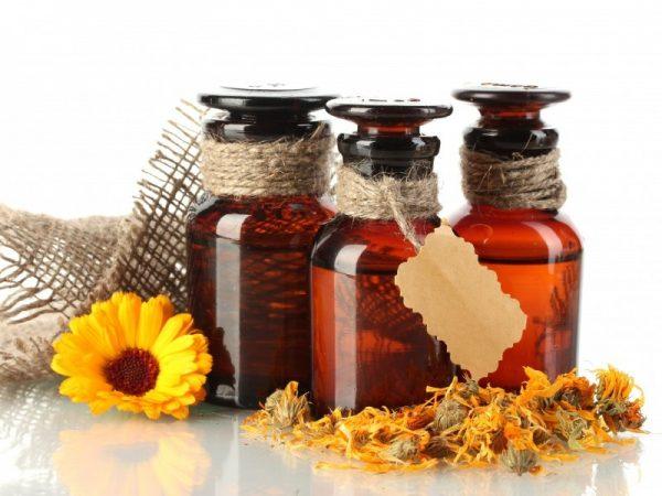 Эфирные масла (лаванды, календулы, чайного дерева)