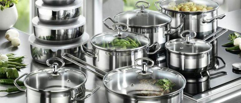 Кастрюли для домашней кухни