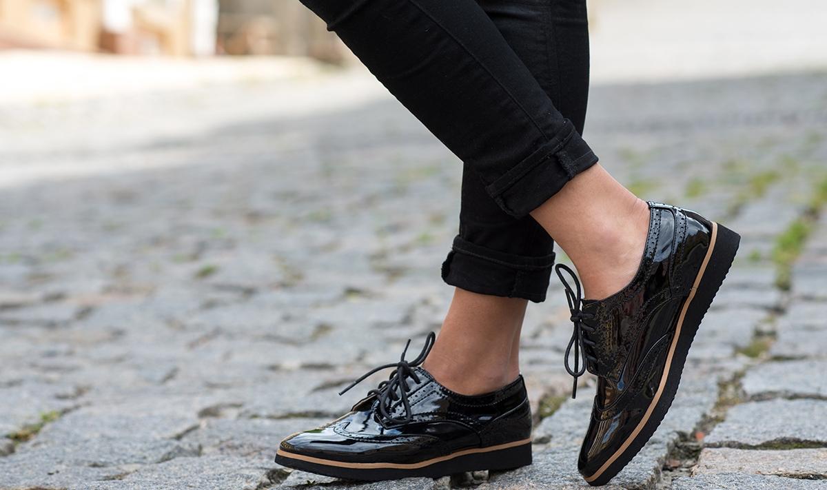 Лакированная обувь: правила ухода