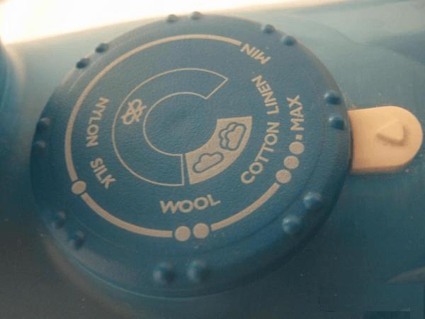 Регулятор температуры на утюге