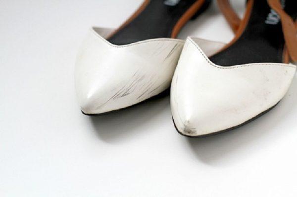 Сложные загрязнения на обуви