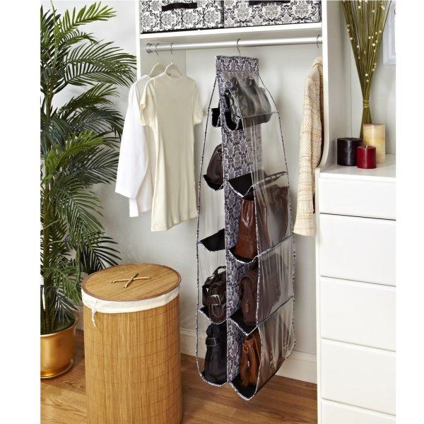 Органайзер для сумок в шкафу
