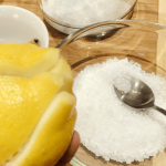 Соль и лимонный сок