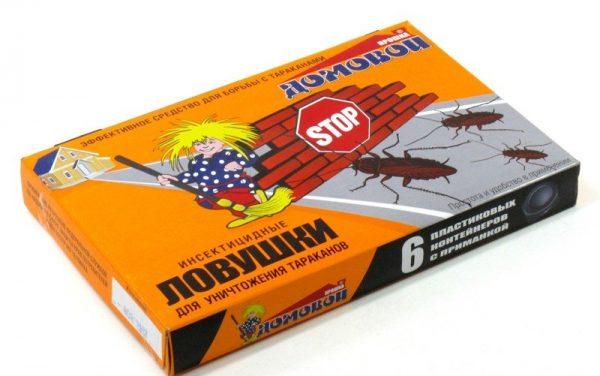 Инсектицидные ловушки «Домовой»
