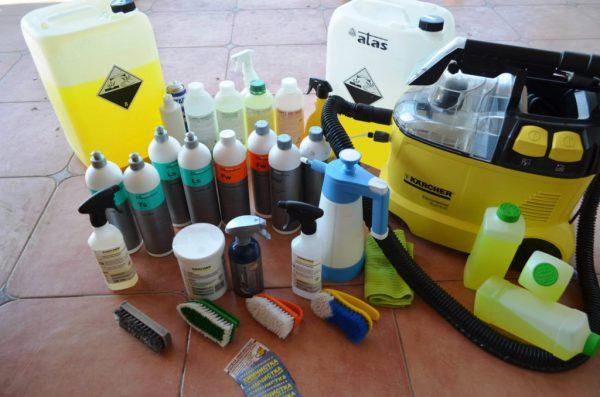 Профессиональные средства чистки