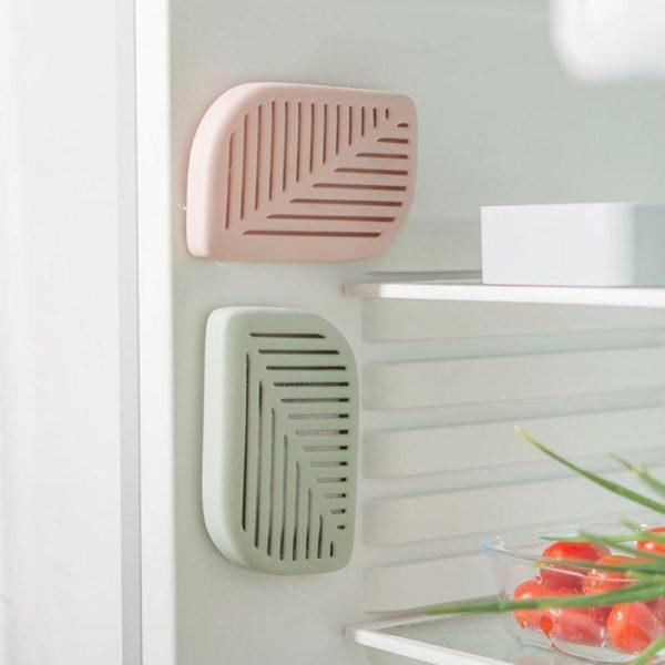 Поглотители на стенках холодильника