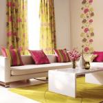 Сочетание обоев, мебели и аксессуаров