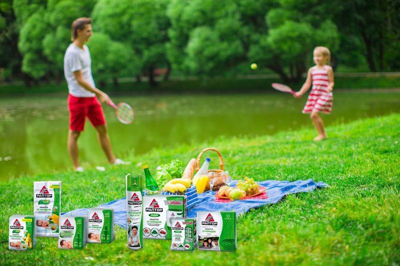 Средства от комаров «Раптор»: защита для вас и вашего дома