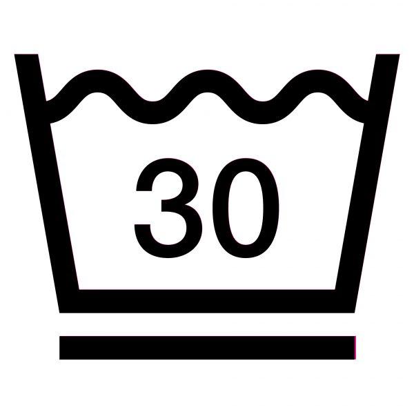 Значок «Удерживать температуру вблизи указанного уровня — 30°С»