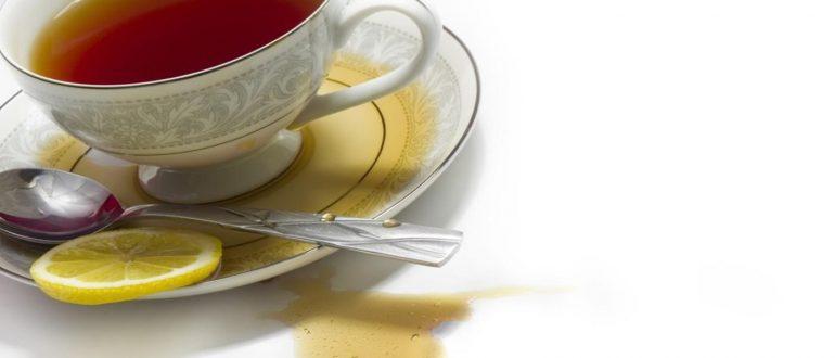 tea stain remove