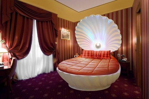 Кровать-ракушка