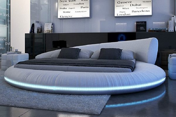 Кровать в стиле «Техно»