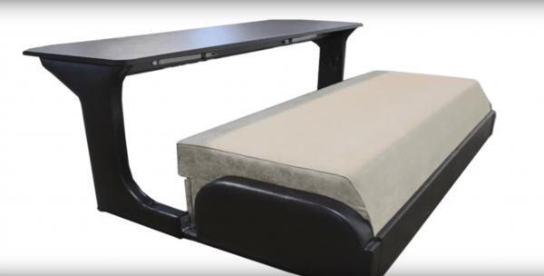 Диван-стол-кровать: положение «стол»