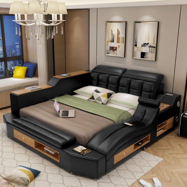 Многофункциональная двуспальная кровать
