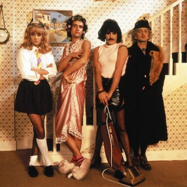 Queen в клипе I want to break free