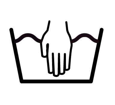 Значок «Ручная стирка»