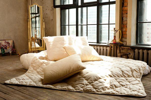 Овечье одеяло в интерьере