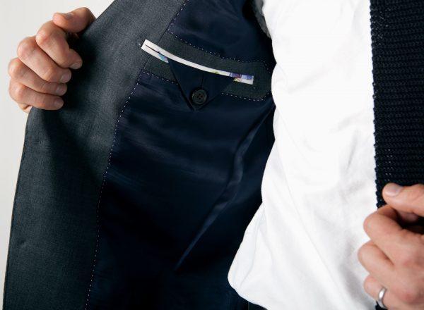 Пиджак с подкладкой