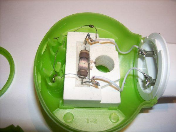 Разобранный электрофумигатор