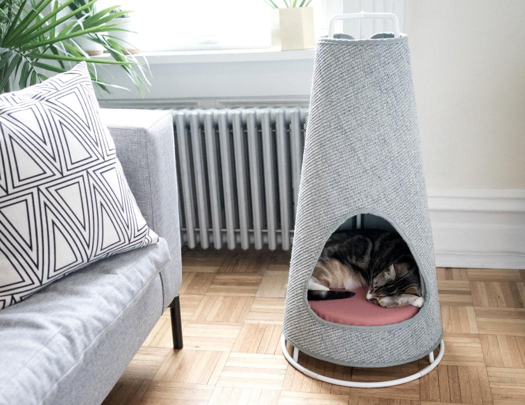 Домики для кошек и котов: нюансы выбора