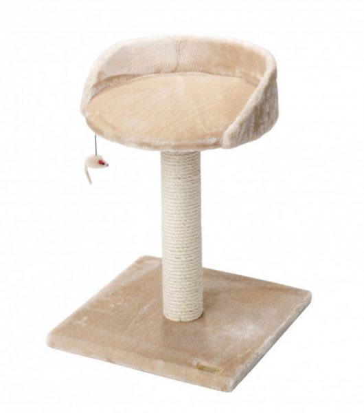 Когтеточка-столбик со спальным местом на высоте 50 см