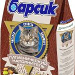 Упаковка наполнителя Барсик
