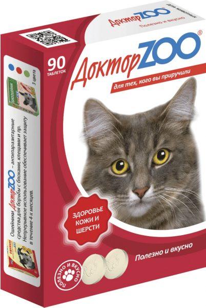 Витамины для кошки «Доктор Зоо»